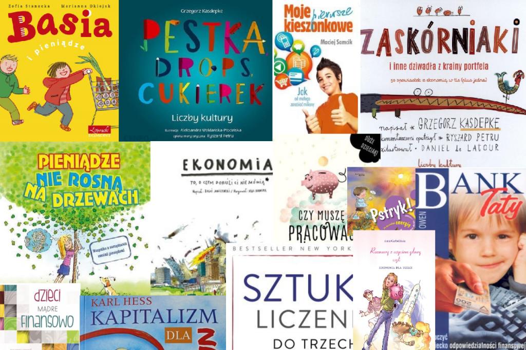 Książki o edukacji finansowej dzieci