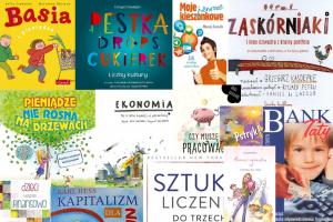 Książki o edukacji finansowej i ekonomii – dla dzieci, młodzieży i ich rodziców.
